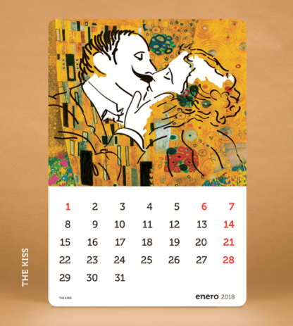 TIME SAPIENS Calendario 2018