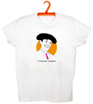 Camiseta Manolete, bullfighter