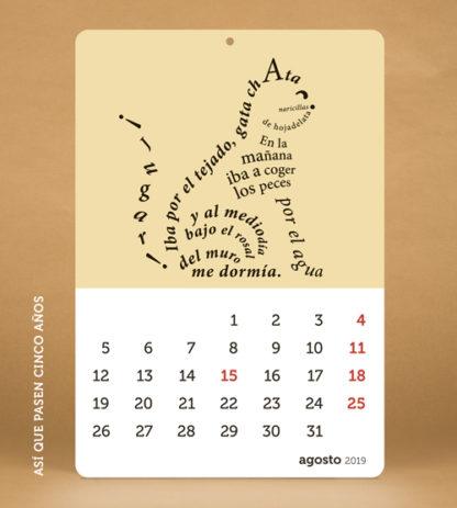 TIME SAPIENS Calendario 2019
