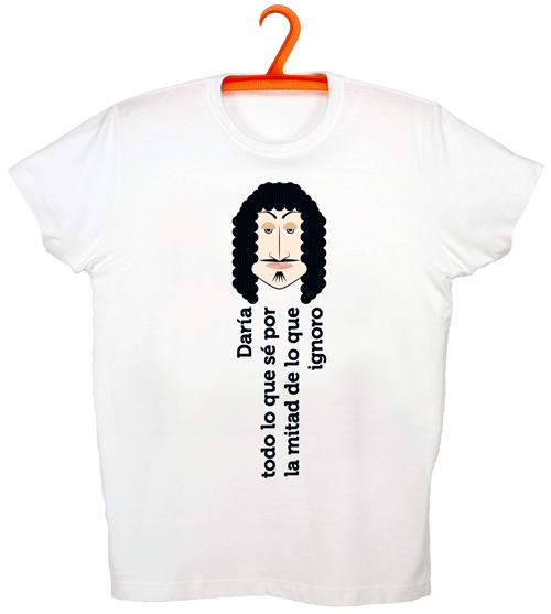 Camiseta Descartes